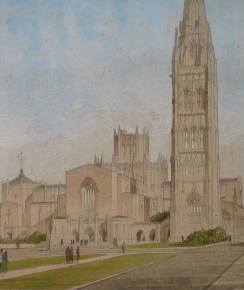 Cyril Farey, Coventry Cathedral, 1950 Gallery Lingard